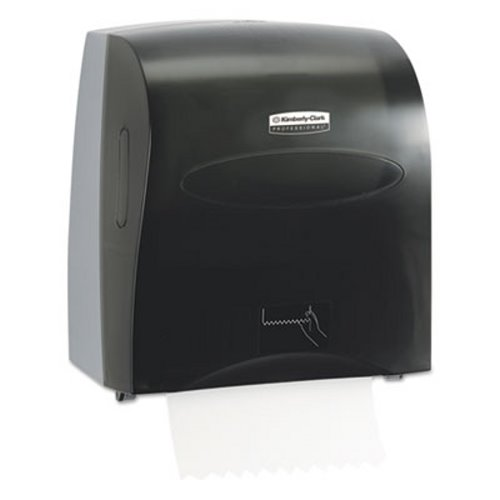 Scott 10441 Slimroll Hard Roll Paper Towel Dispenser, Smoke Gray (KCC10441)
