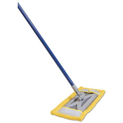 Quickie Microfiber Floor Mop Refill, Terry Cloth, 6 5w x 2 5d, Yellow  (QCK764M)