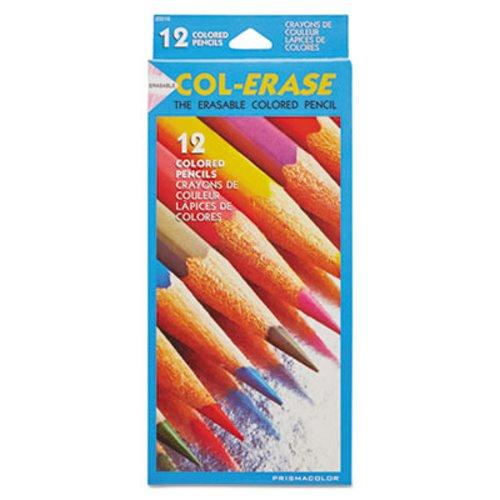 Dozen Blue Lead Blue Barrel Prismacolor Col-Erase Pencil with Eraser