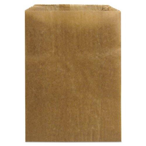 Hospeco Sanitary Napkin Receptacle Liner Kraft Waxed Paper 500 Bags Hos260