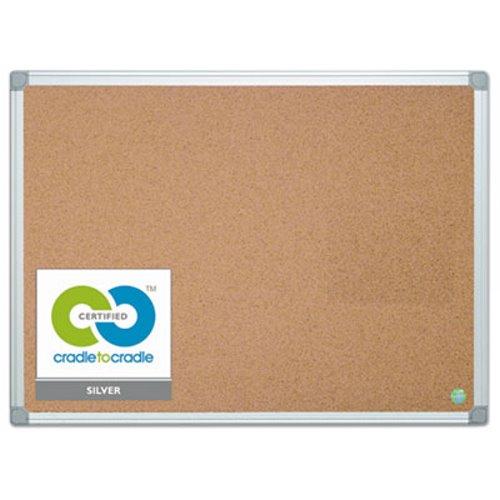 Mastervision Mastervision Earth Cork Board 36 X 48 Aluminum Frame