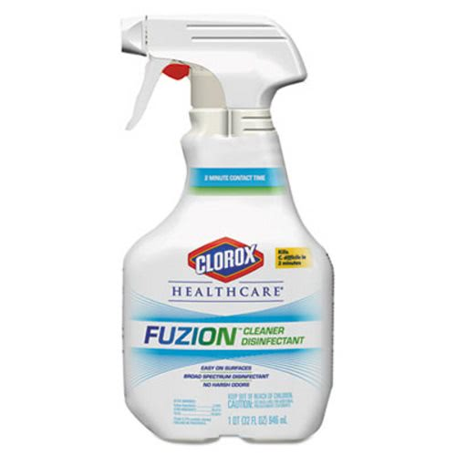 Clorox Healthcare Fuzion Cleaner Disinfectant Clo31478