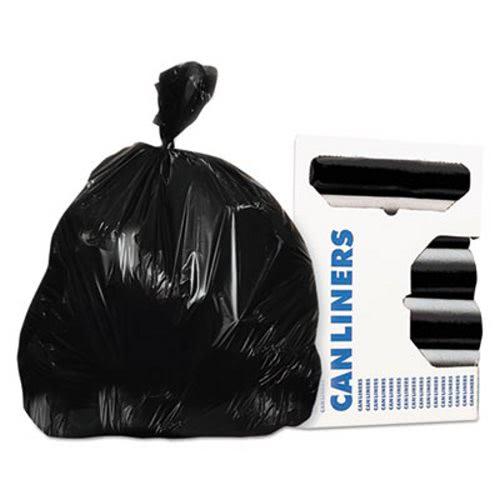 55 Gallon Black Garbage Bags 40x53 1 3 Mil 100 Herh8053pkr01