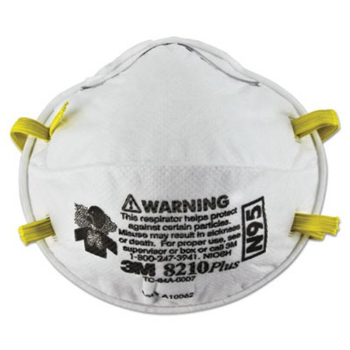 N95 Respirators 20 Respirator Particulate mmm8210plus 8210plus 3m