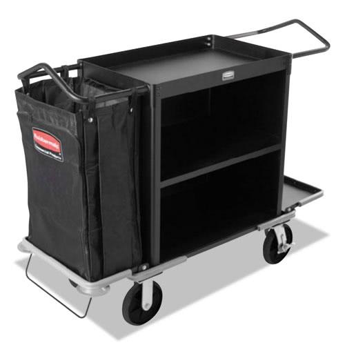 rubbermaid 9t62 high capacity cart black rcp9t62bla