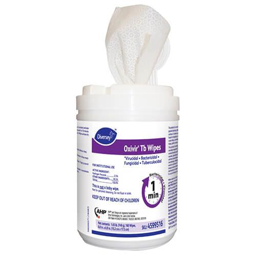 SteriWipes Virucidal Wipes Disenfectant wipes no Fregrance 160 wipes per tub