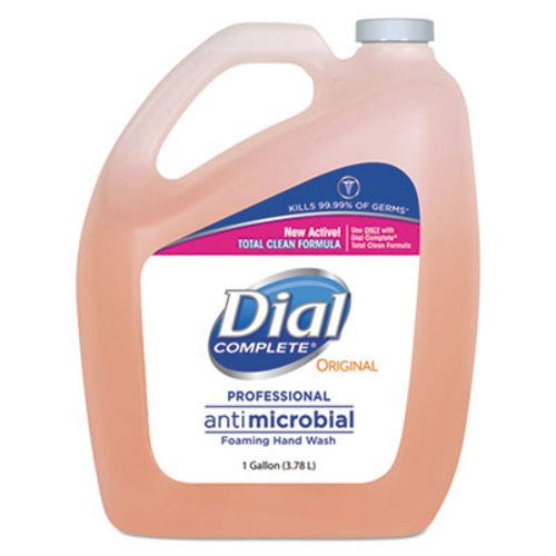Dial Complete Antibactrial Foaming Soap 4 1 Gallon