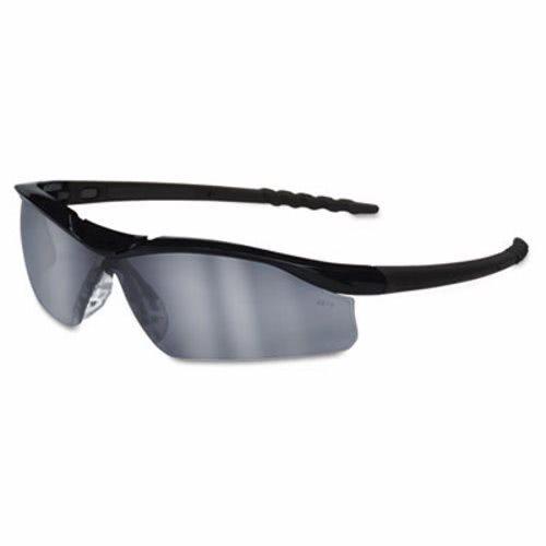 ad2cae8c63ef Crews Dallas Wraparound Safety Glasses, Black Frame, Gray Indoor/Outdor  Lens CRWDL119AF