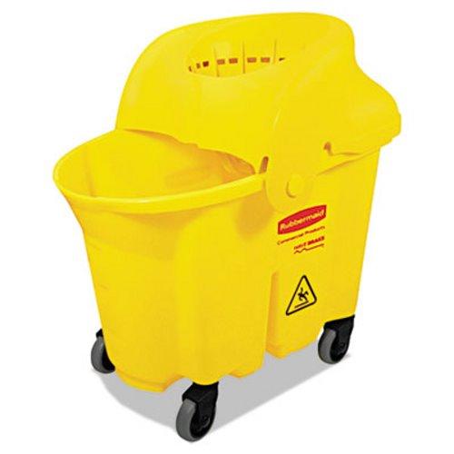 2926dd6d3c8 Rubbermaid 7590-88 WaveBrake Mop Bucket   Strainer RCP 7590-88 YEL