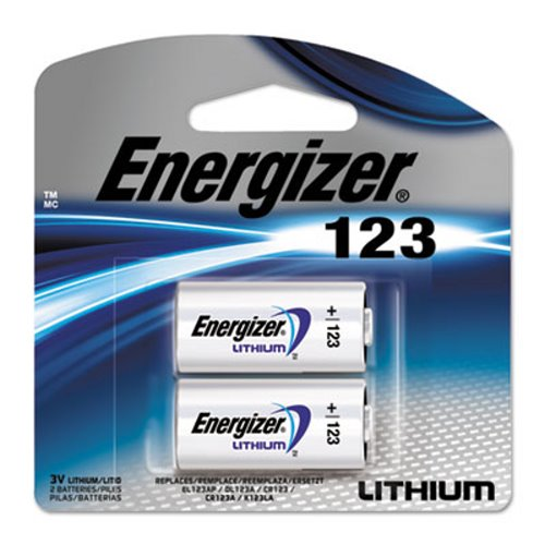 photo about Duracell Hearing Aid Batteries 312 Coupons Printable named Energizer e2 Lithium Photograph Battery, 123, 3V, 2/Pack (EVEEL123APB2)