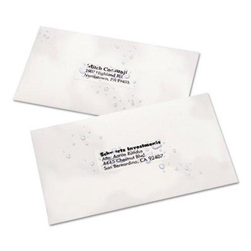 avery 5520 weatherproof address labels white 1 x 2 5 8 ave5520