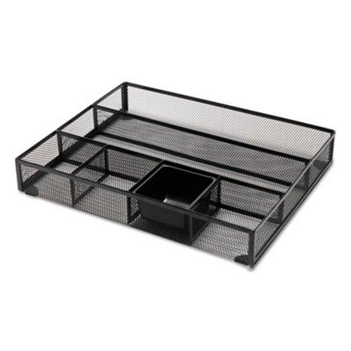 Universal Metal Mesh Drawer Organizer 15 X 11 7 8 2 1 Black Unv20021