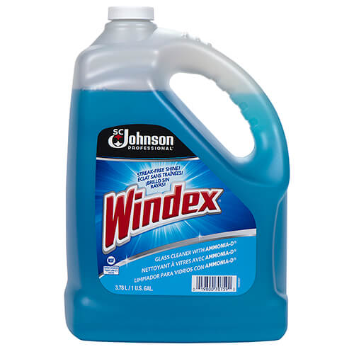 Windex Powerized Glass Amp Surface Cleaner 1 Gallon Sjn696503ea