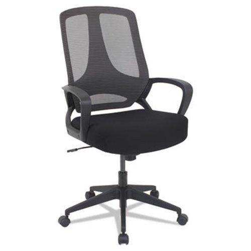 alera mb series mesh mid back office chair alemb4718