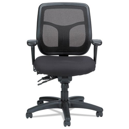 Eurotech Apollo Multi-Function Mesh Task Chair Silver Fabric Seat (EUTMFT945SL)  sc 1 st  CleanItSupply.com & Eurotech Apollo Multi-Function Mesh Task Chair EUTMFT945SL