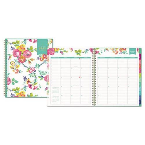 blue sky day designer cyo weeklymonthly planner 8 12 x 11 2019 bls103618