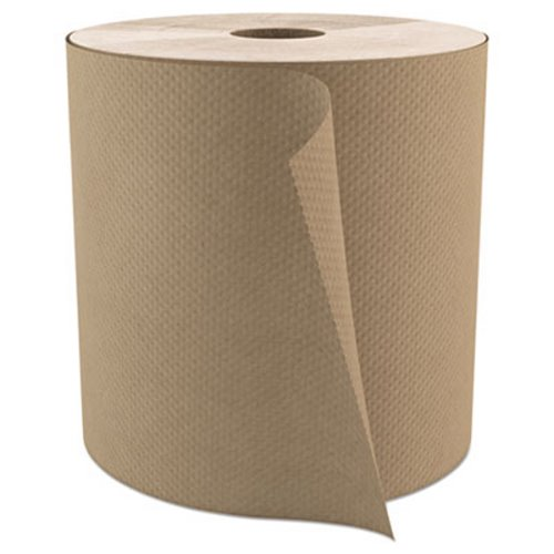 cascades pro select 800 ft brown hard roll paper towels 6 rolls csdh085 - Paper Towel Roll