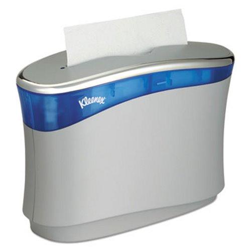 kleenex reveal countertop folded towel dispenser kcc51904