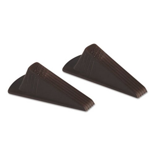 Delicieux Master Caster Giant Foot Doorstop, TPR, Brown, 24 Doorstops (MAS00987)