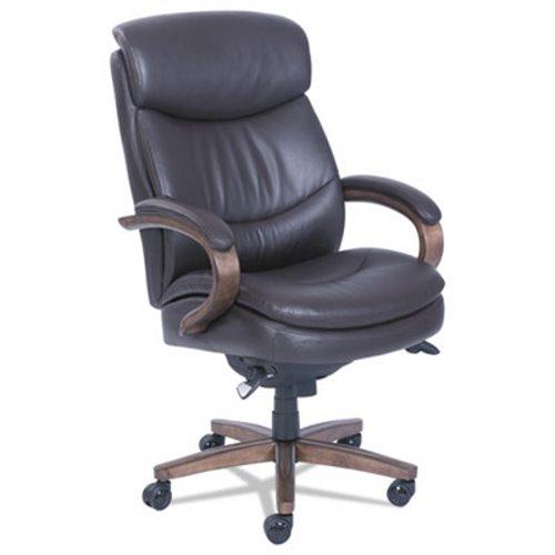 La Z Boy Woodbury High Back Executive Chair, Brown (LZB48962B)