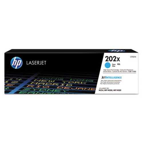 Toner Cartridge Compatible for HP Color Laserjet Pro MFP M280nw M281fdn M281fdw M281cdw M254nw M254dw M254dn Printer High Yield 202X 2BK+2C+2M+2Y CF500X CF501X CF502X CF503X 8 Pack