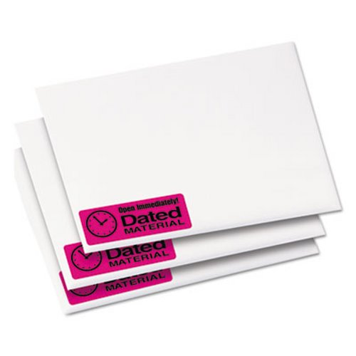 avery high visibility laser labels 1 x 2 5 8 neon magenta 750