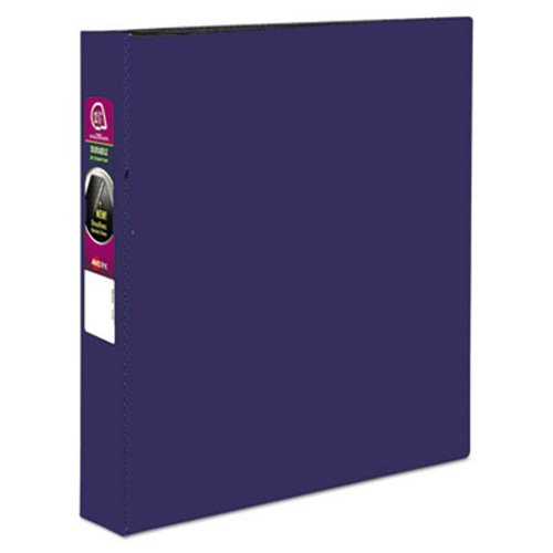 avery durable ez turn ring reference binder 11 x 8 1 2 1 1 2