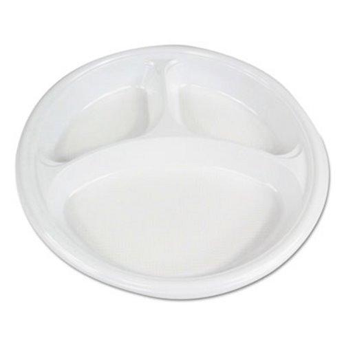 Boardwalk Hi-Impact Plastic Dinnerware Plate We 500 Plates (BWKPLTHIPS10WH3)  sc 1 st  CleanItSupply.com & Boardwalk Hi-Impact Plastic Dinnerware BWKPLTHIPS10WH3