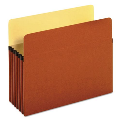 UNIVERSAL 1 3//4 Inch Expanding File Pockets Straight Tab Letter Redrope//Manila