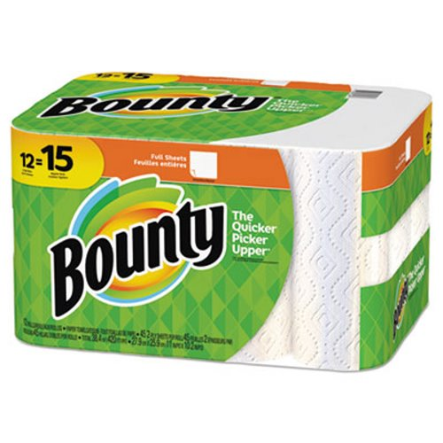 Bounty Kitchen 2 Ply Paper Towel Rolls 45 Sheets Roll 12 Rolls Ct Pgc74697