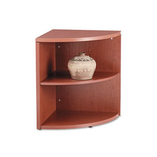 Hon 10500 Series Two Shelf End Cap Bookshelf 24w X 24d 29 1 2h Henna Cherry HON105520JJ