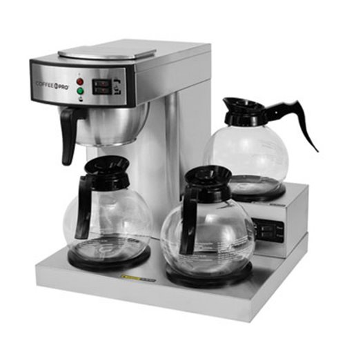 Coffee Pro Three-Burner Low Profile Institutional Coffee Maker (OGFCPRLG)