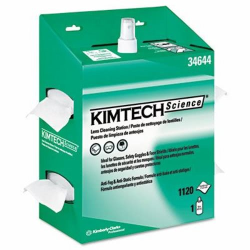 Kimtech Science 34644 Lens Cleaning Station Kit 4 Kits