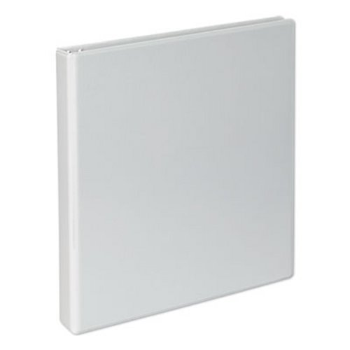 UNV20742 Universal Economy D-Ring Vinyl View Binder