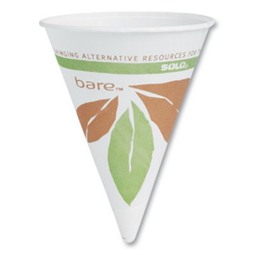5000 Paper Cone Cups 4 oz Single-Use White Rolled Rim Water Cooler Cup 25 Boxes