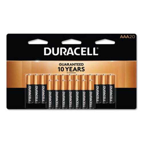 Duracell Alkaline AAA Batteries 20 Batteries DURMN2400B20Z