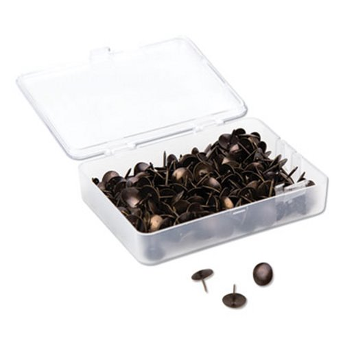 "5//16/"" 100//Pack Steel Universal Thumb Tacks Silver"
