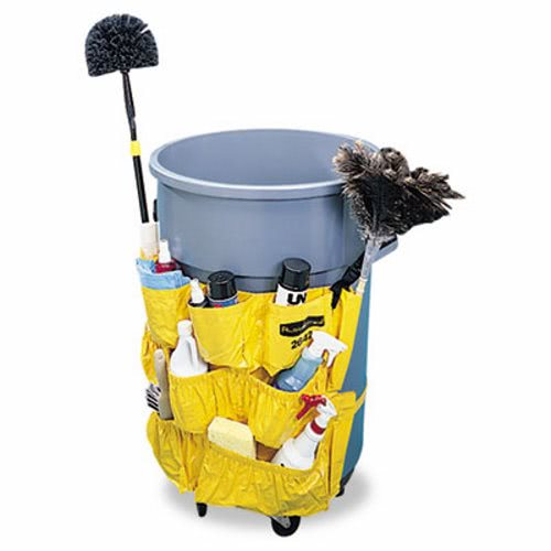 Trash Can Caddy Rubbermaid Caddy Bag Cleanitsupply Com
