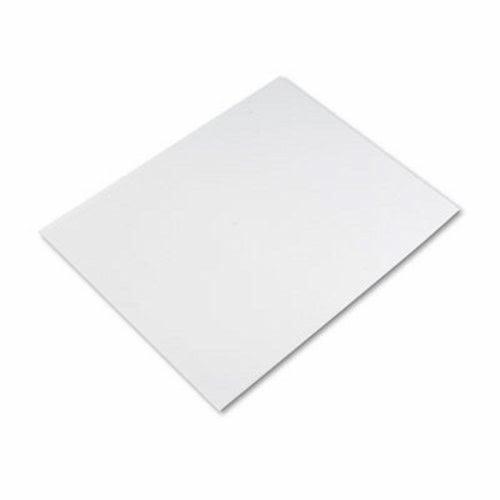 Pacon Six-Ply Poster Board 25//Carton White PAC54611 28 x 22