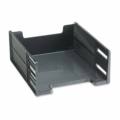 Etonnant Rubbermaid Stackable High Capacity Front Load Letter Tray, Polystyrene,  Ebony RUB17671