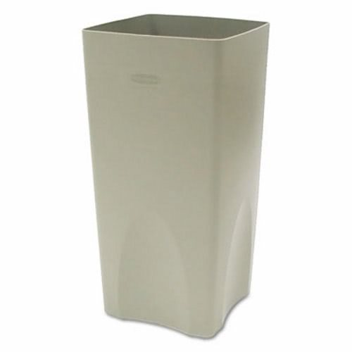 Rubbermaid Plaza Waste Container Rigid Liner Square Plastic 19