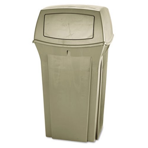 Rubbermaid 843088 35 Gallon Ranger Trash Can Beige RCP843088BG