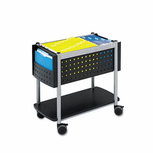 Safco Scoot Open Top Mobile File Cart, 28w X 14-3/4d X 26h