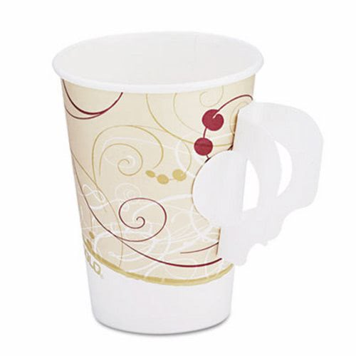 Symphony 8 Oz Paper Hot Cup With Handle 1 000 Cups Scc