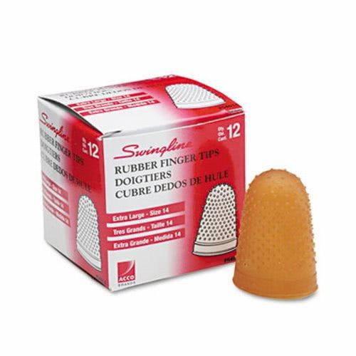 Swingline Rubber Finger Tips Box of 12