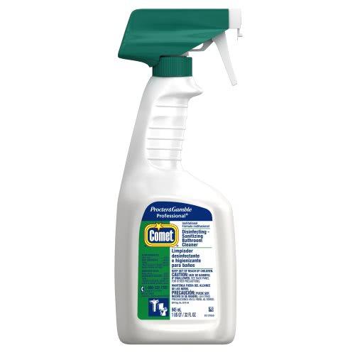 Comet bathroom cleaner spray