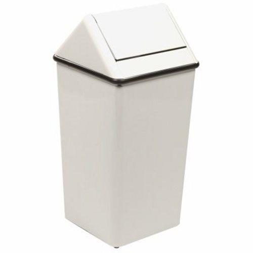 13 Gallon Slate Swingtop Kitchen Trash Can (WITT-1311HTSL)