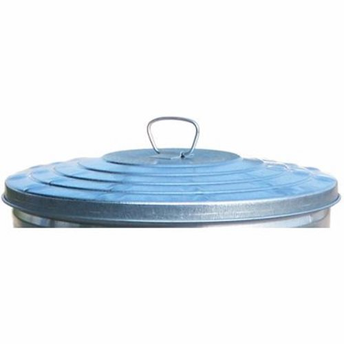 24 Gallon Metal Galvanized Trash Can Lid Witt Wcd24l Witt Trash