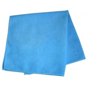 "Knuckle Buster Blue Glass/Mirror Towels, 15"" x 15"", 12 Towels (ACA-MFGT15BL)"