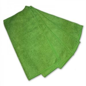 "Knuckle Buster Green Microfiber Towels, 12"" x 12"", 12 Towels (ACA-MFMP12GN)"